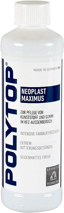 Polytop Neoplast Maximus Kunststoffpflege Kunststoff Gummipflege 500 Ml Auto
