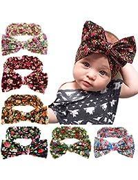 Baby Girl's Elastic Hair Hoops Headbands