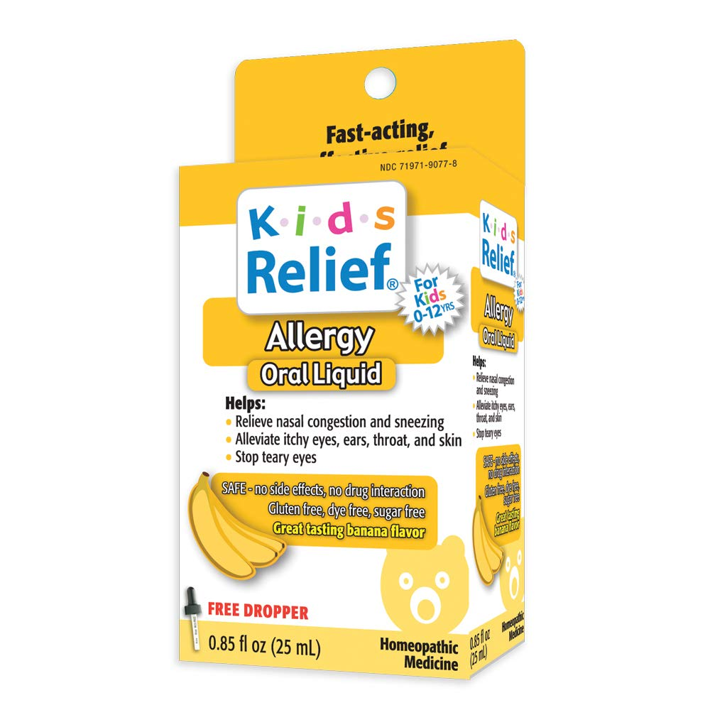 Kids Relief Allergy Oral Solution, .85-Ounce Bottle