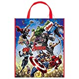 Large Plastic Avengers Goodie Bag, 13'' x 11''