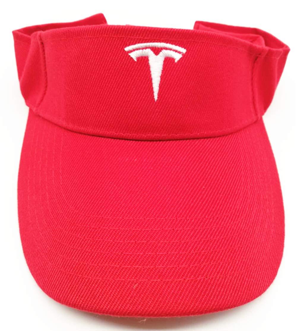 Visor Cap Black JSAMZ Tesla Car Logo Baseball Cap