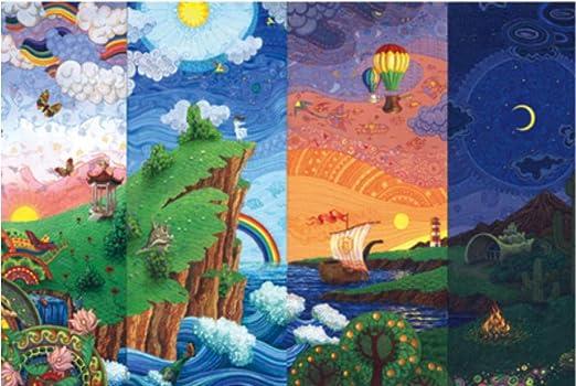 Scenic Rainbow 1000 Piece Jigsaw Puzzle