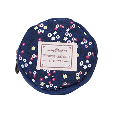 9d618f037c8d Amazon.com : Junlinto Cute Women Girls' Small Round Bags Coin Purse ...