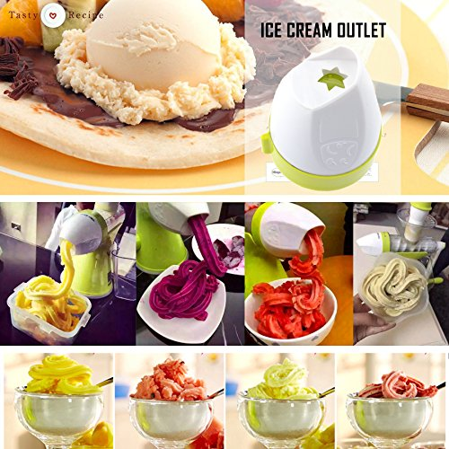 Manual Slow Juicer Ice Cream Maker : Bon venu Slow Manual Juicer - Fruits vegetables Hand Juicer - Suction Base- Kids Juicer Ice ...