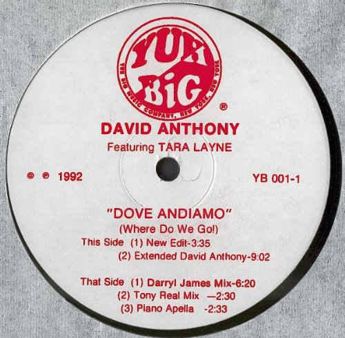 David Anthony Dove Andiamo David Anthony 12 Amazon Com Music