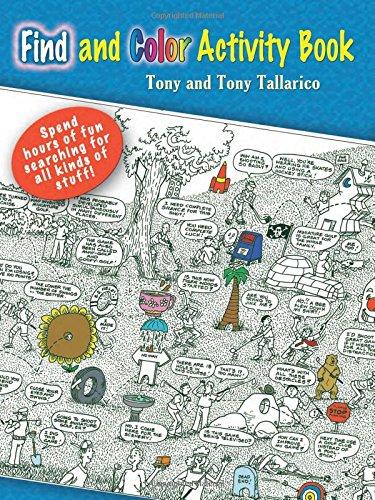 Treasure Hunt Activity Book (Dover Little Activity Books)
