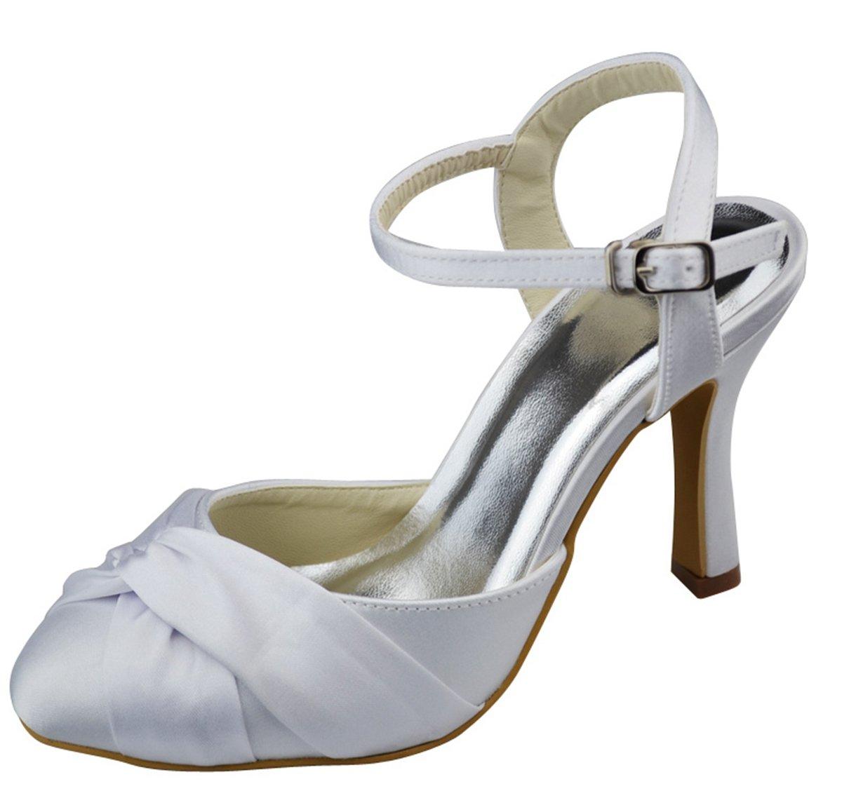 Minitoo , Bride , B07FY3ZSWV de cheville femme Beige - Beige ivoire 228b63b - shopssong.space