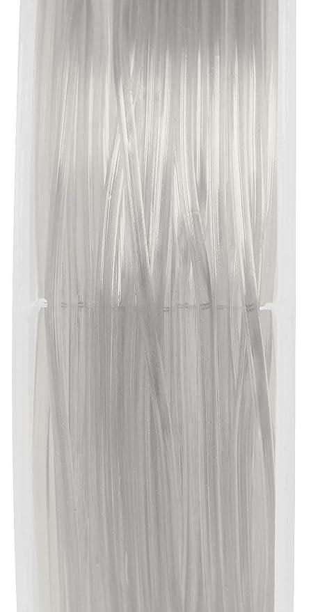 10 Magic Stretch Gummikordeln à 7m VBS Großhandelspackung transparent 0,8mm