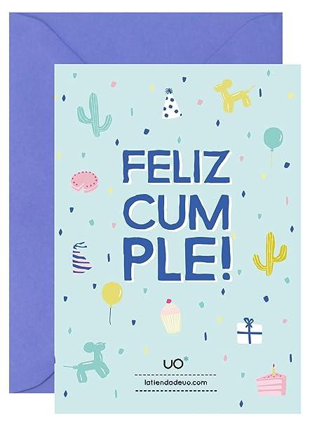 UO ESTUDIO LMCFC3 - Postal para cumpleaños