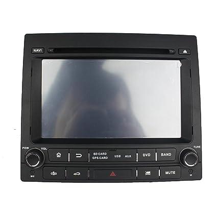 Android 6.0 Octa Core 1024 * 600 Coche Reproductor de DVD GPS navegación Multimedia estéreo Coche para Peugeot 405 MTK Radio Control de Volante con 3 G WiFi ...