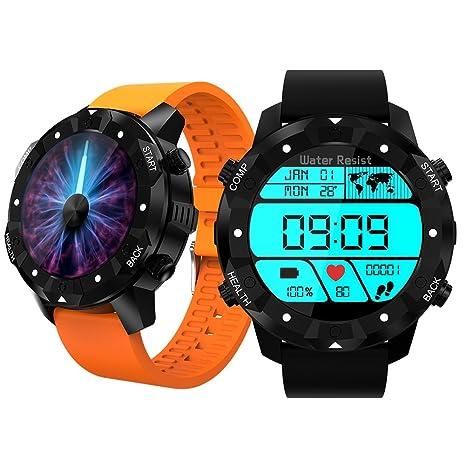 Reloj deportivo inteligente Bluetooth con podómetro, Fitness Tracker, tecnología de vestir, impermeabilidad IP68