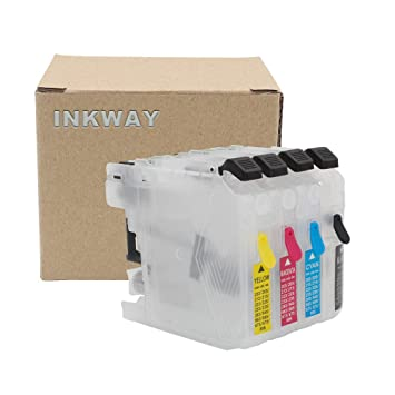 Amazon.com: INKWAY LC201 LC203 - Cartucho de tinta ...