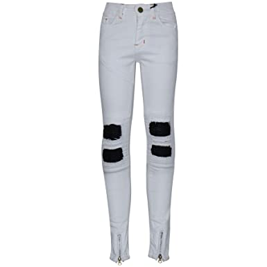 1c2f62e681ce A2Z 4 Kids Kids Boys Stretchy Jeans Designer's White Ripped Denim Skinny  Pants Fit Trousers New Age 5 6 7 8 9 10 11 12 13 Years: Amazon.co.uk:  Clothing