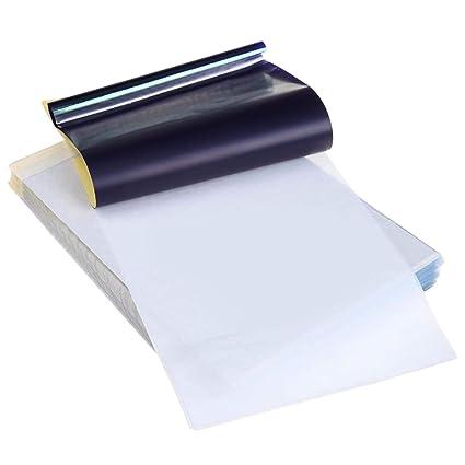 transferencia de papel de tatuaje,30 Hojas de Tamaño A4 ...