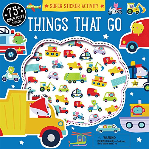 (Super Sticker Activity: Things that Go)