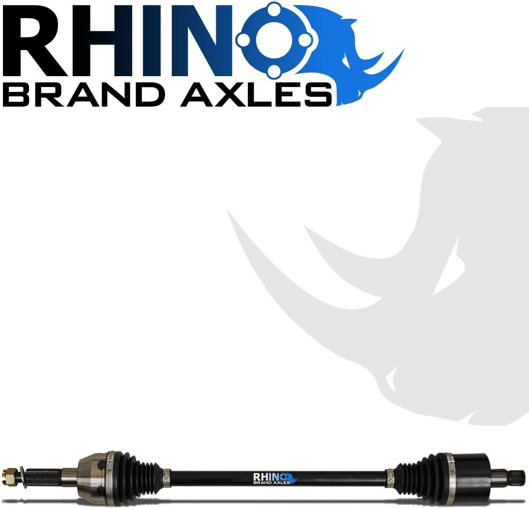 Stock Length Axle SEE FITMENT 1000 SuperATV Heavy Duty Rhino Brand FRONT Axle for Polaris Sportsman XP 550//850