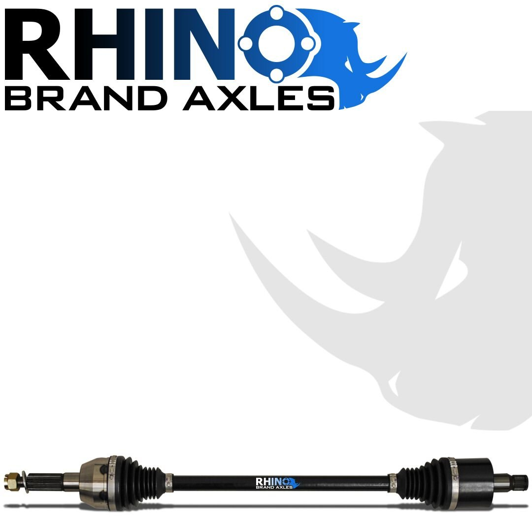SuperATV Heavy Duty Rhino Brand Front Left CV Axle for Can-Am Defender//Max Upgrade From Your OEM Axle! - Stock Length FRONT LEFT 2016+