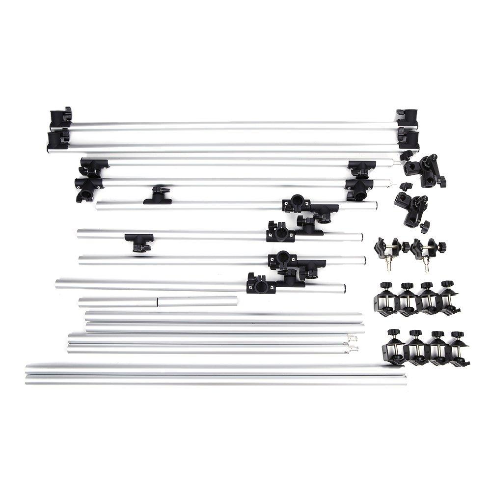Andoer/ /Estudio fotogr/áfico fotograf/ía 100/* 200/cm grabaci/ón mesa para Still Life Art/ículo tiro Marco de Aluminio