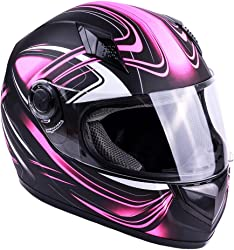 Typhoon Adult Full Face Motorcycle Helmet