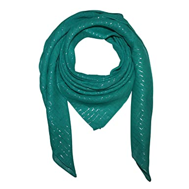 Turquoise Cotton Scarf