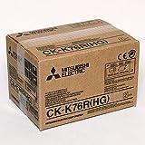 Mitsubishi CK-K 76 HG - Set con cartucho de tinta de sublimación y rollo de papel