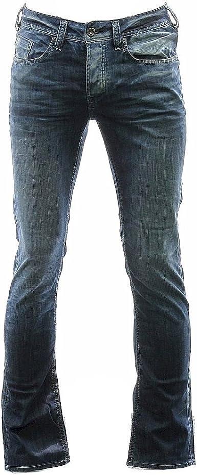 Buffalo By David Bitton Men/'s Evan Super Slim Distress Wash Jeans