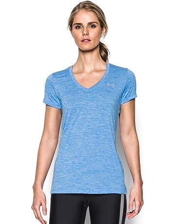 b1bc2b66 Under Armour Women's Tech V-Neck Twist Short Sleeve T-Shirt