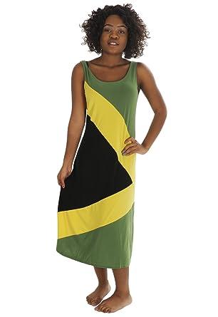 Et Drapeau Accessoires Robe Jamaïque DamesVêtements De 0kwPXN8nO