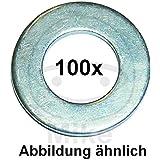 Dresselhaus Scheiben Form A, galvanisch verzinkt, 8,4, 100 Stück