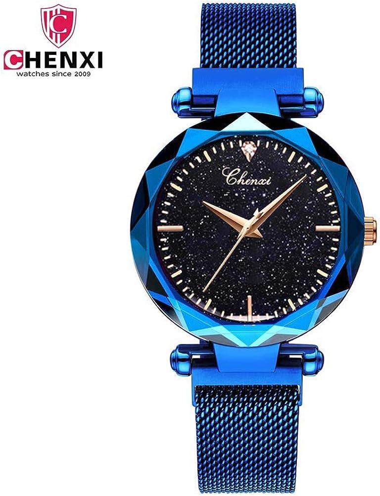 Hermosos Relojes Chenxi Reloj de Mujer iman con Reloj de Cuarzo Reloj 306l Chenxi