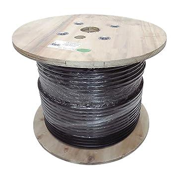 altelix AX600 600 de baja pérdida Cable Coaxial tipo 500 pies carrete de madera