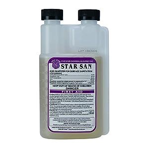 Five Star - Star San - 16 Ounce - Brew Sanitizer High Foaming Acid Anionic