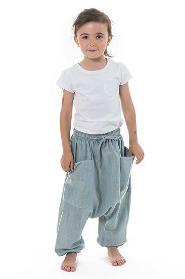 843866876fefc FANTAZIA Sarouel Pantalon Enfant Coton Leger Ilam -  Amazon.fr  Vêtements  et accessoires