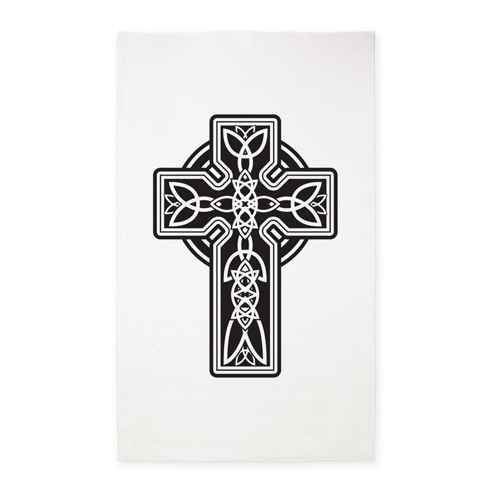 3' x 5' Area Rug Celtic Cross