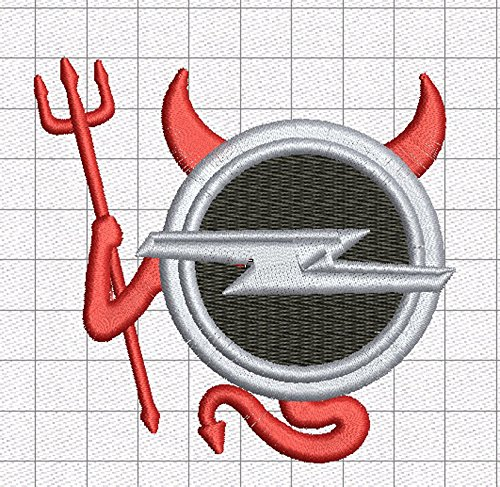 Fun Fun Plus Gilet 8065 Stickerei Devil Devil Devil Vest Ricamato Opel Weste Logo Teufel wgw0xpn