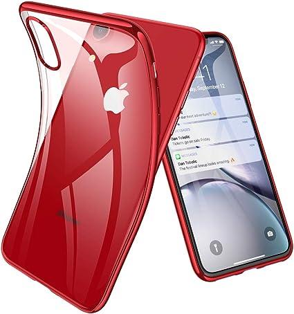 RANVOO Custodia iPhone XR Trasparente Cover Slim per iPhone XR