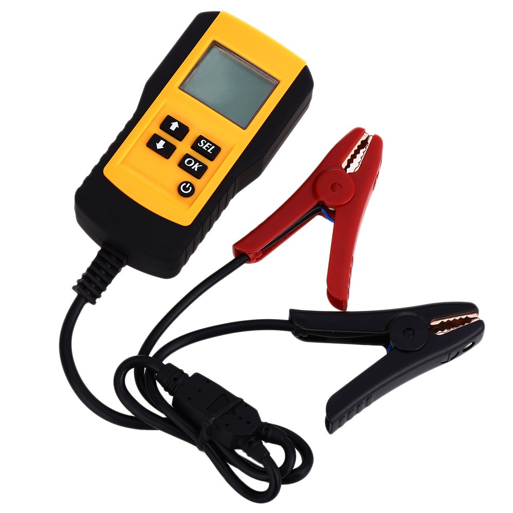 OLSUS Car Digital Battery Test Analyzer - YELLOW AND RED by OLSUS (Image #2)
