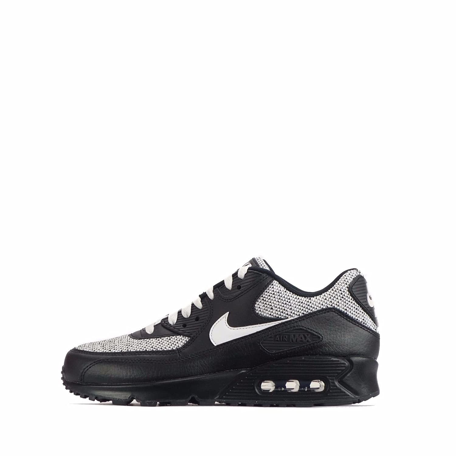 NIKE Men's Air Max 90 Essential Running Shoe B072QCKSGT 7.5 D(M) US|Black White 079