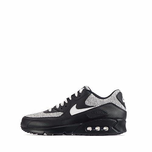 Nike Air Max 90 Essential, Herren Sneaker schwarzweiß