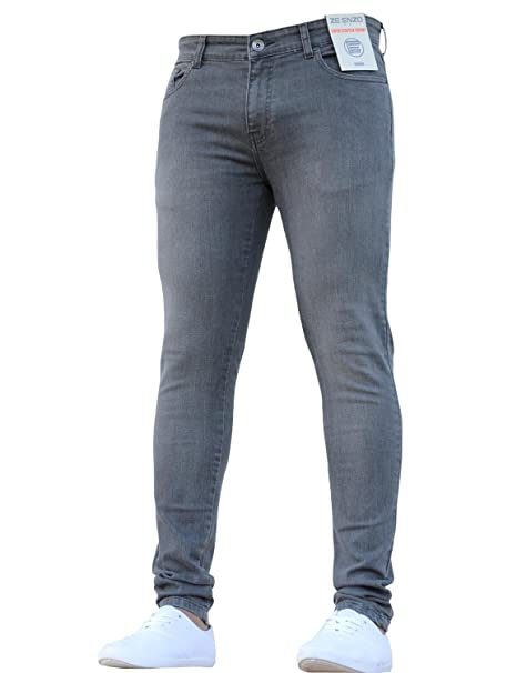 Enzo New Boys Designer Chino Jeans Skinny Stretch Fit Age 9,10,11,12,13,14,15