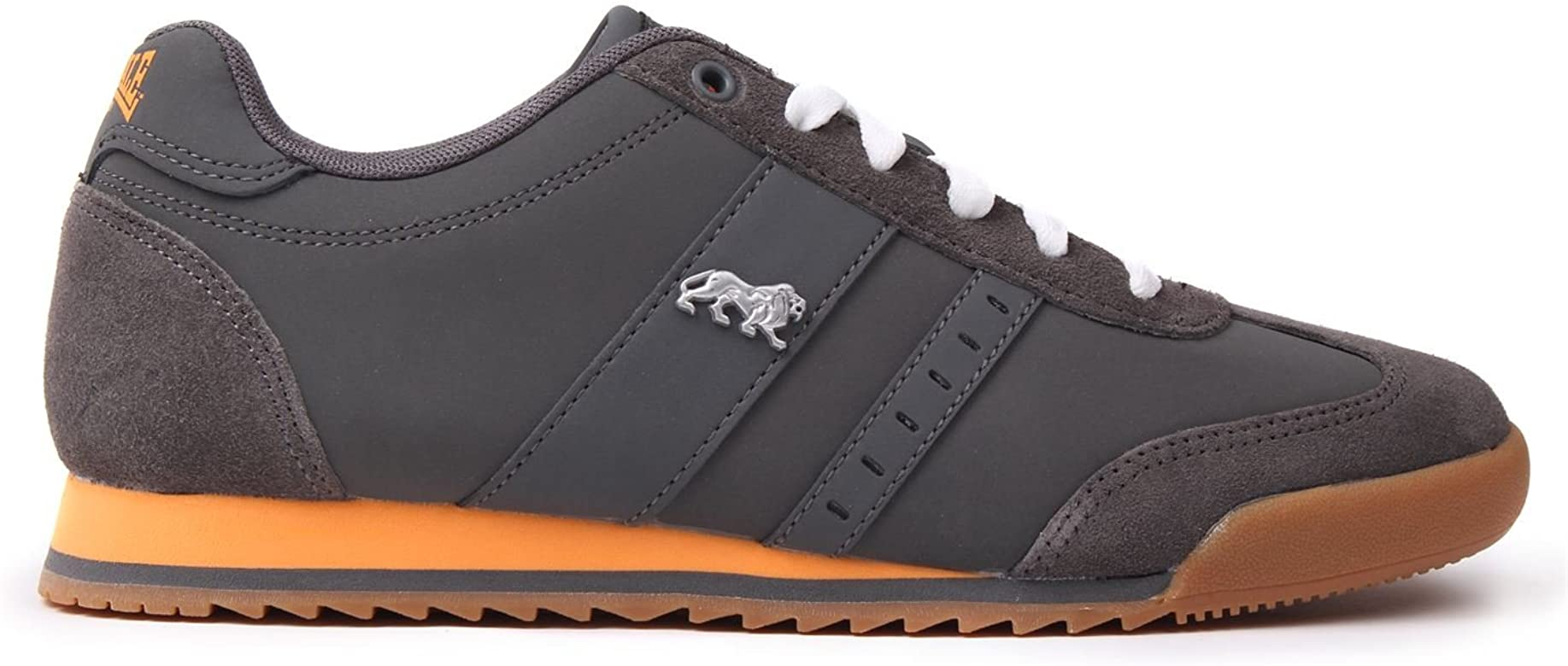 Lonsdale Mens Lambo Trainers Suede Lace