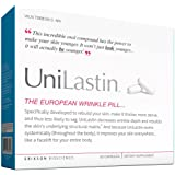 UNILASTIN The European Wrinkle Pill- Dietary Supplement with a Unique Formula Designed to Repair Rebuild Your Skin, Help the Skin Become Thicker, Denser, and More Cohesive , (60 count)