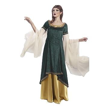 Limit da332 TL Disfraz Medieval de Princesa galadrada (Grande ...