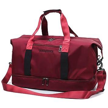 Amazon.com: Bolsa de viaje para mujer con bolsillos para ...