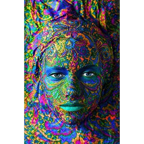 Puzzle 150 pièces - Puzzle en Bois - Face Art : Portrait de Femme