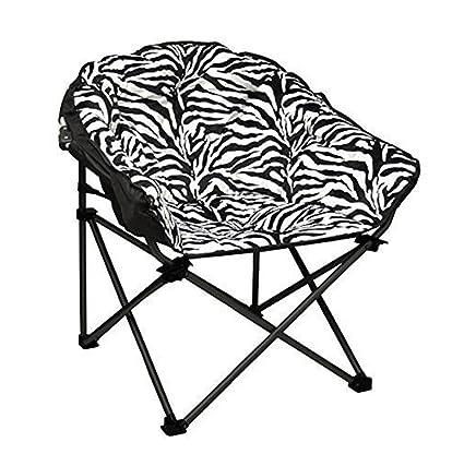 Tremendous Amazon Com New Sudden Comfort Folding Chair Shop Zebra Club Pabps2019 Chair Design Images Pabps2019Com