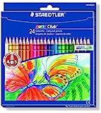 Staedtler 144NC24 Noris Club - Pack de 24 lápices de colores [Importado de Alemania]