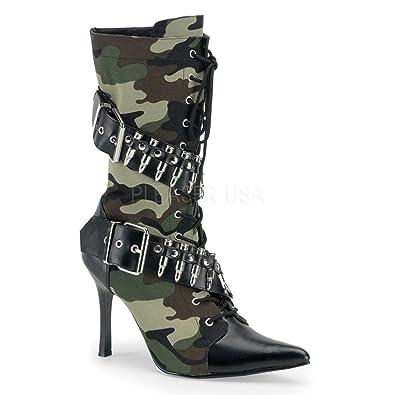 Funtasma Military-High Heels Boots Militant-128