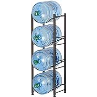 Water Jug Rack for 5 Gallon, Heavy Duty Water Cooler Jug Bottle Holder Save Space Detachable Water Bottle Plastic Glass…