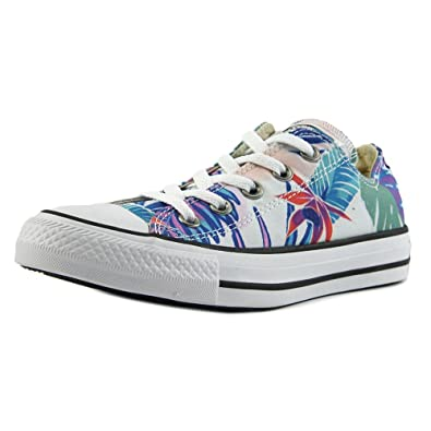 0c53ff1e3a74b Converse Mens Chuck Taylor All Stars Tropical Print OX Low Top Canvas  Trainers  Amazon.co.uk  Shoes   Bags